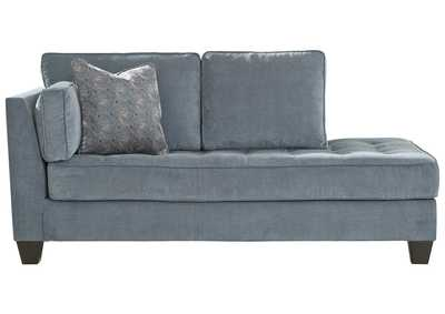 Image for Sciolo Cobalt Left-Arm Facing Chaise Lounger