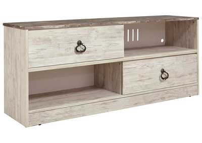 "Image for Willowton Whitewash 54"" TV Stand"
