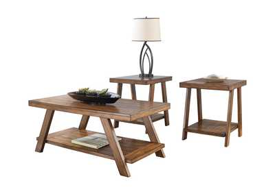Bradley 3 Piece Occasional Table Set,Signature Design By Ashley
