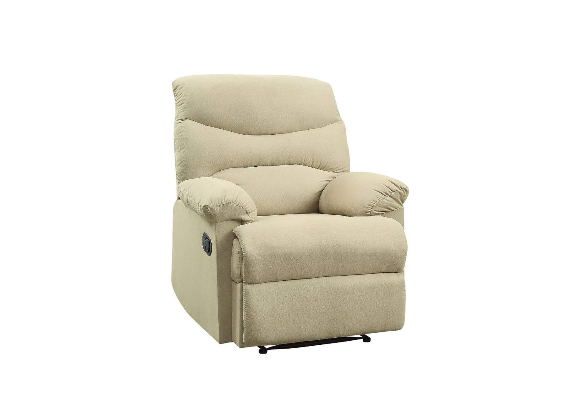 Arcadia Beige Recliner (Motion),Acme