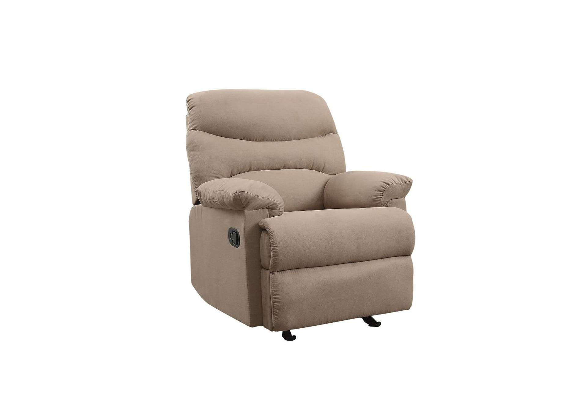 Arcadia Brown Glider Recliner (Motion),Acme