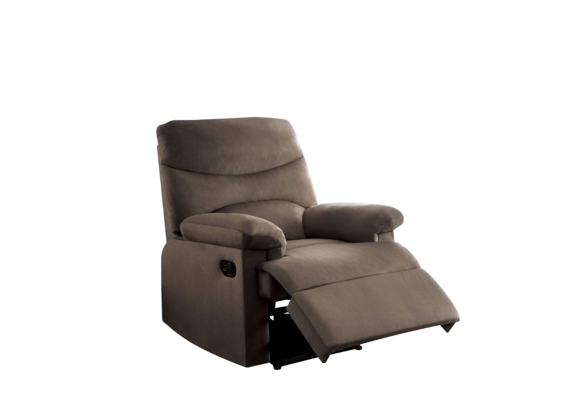 Arcadia Brown Recliner (Motion),Acme
