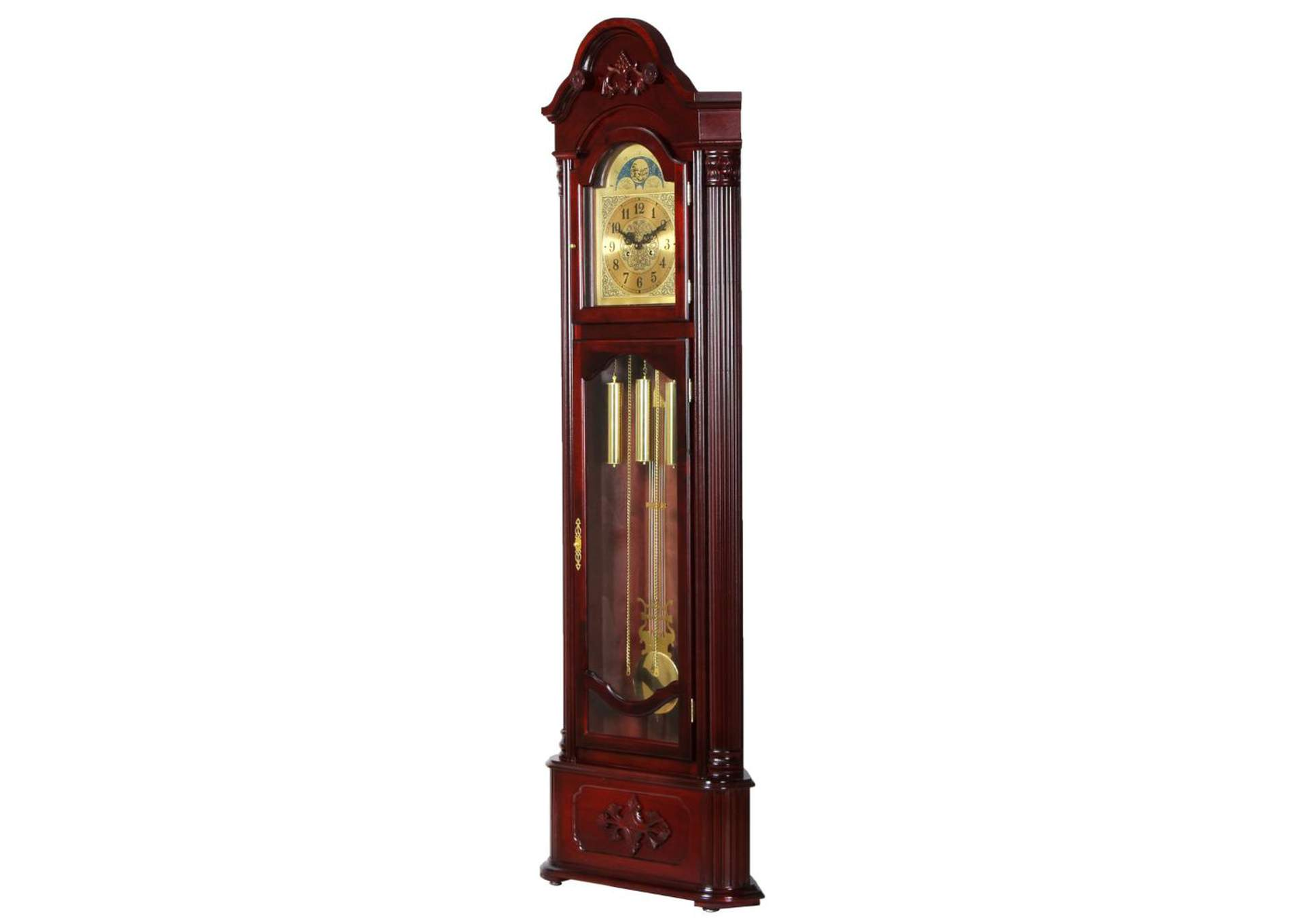 Longwood Walnut Grandfather Clock,Acme