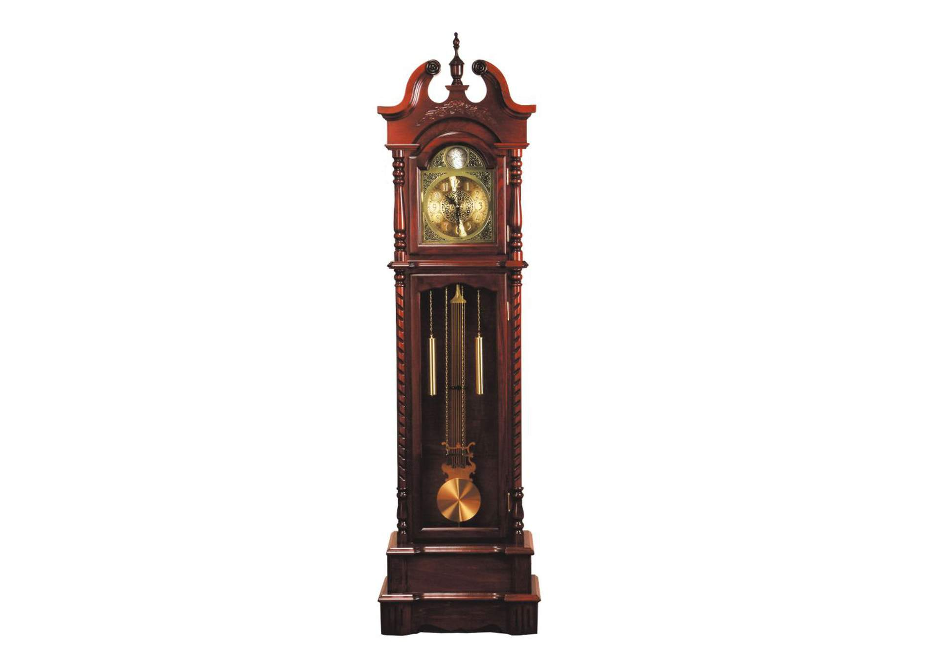 Broadmoor Walnut Grandfather Clock,Acme
