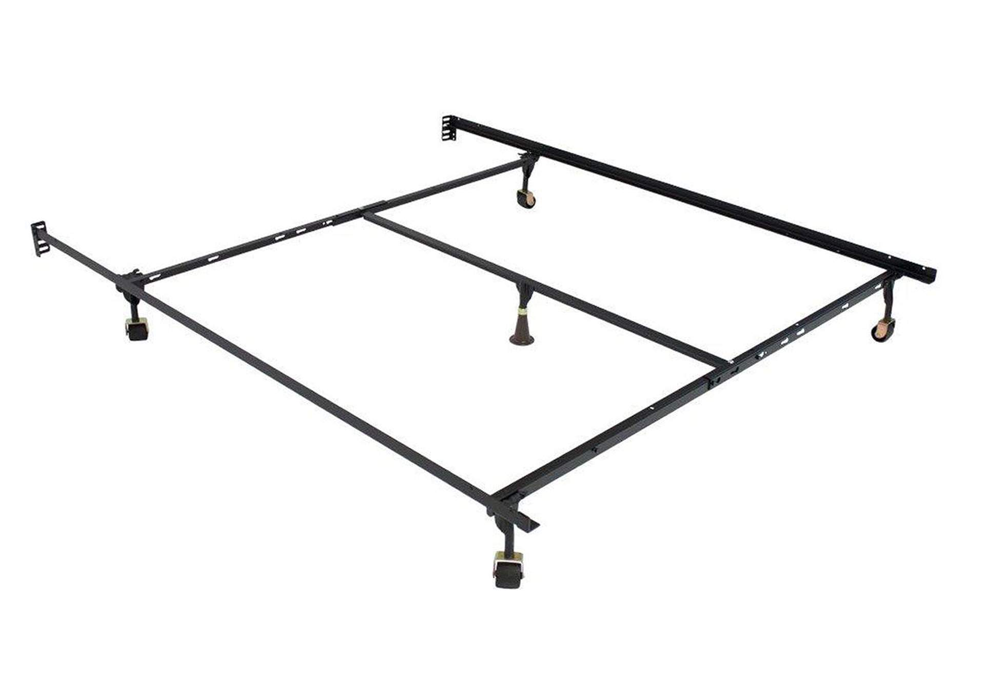 Frame Metal Queen/Full/Twin Adjustable Rail,Acme