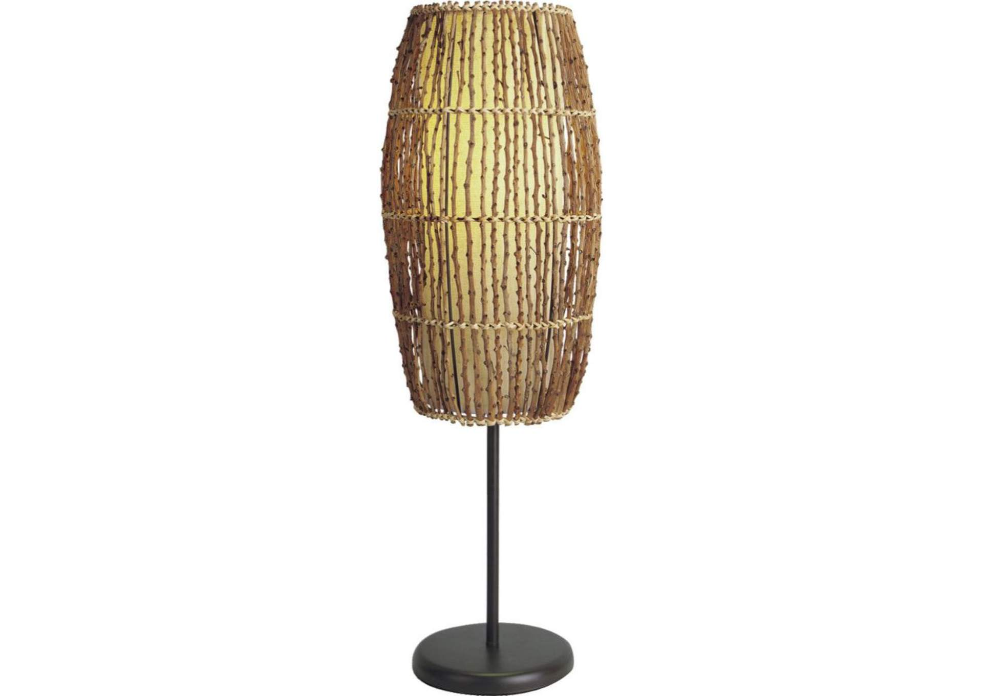 Bamboo Table Lamp,Acme