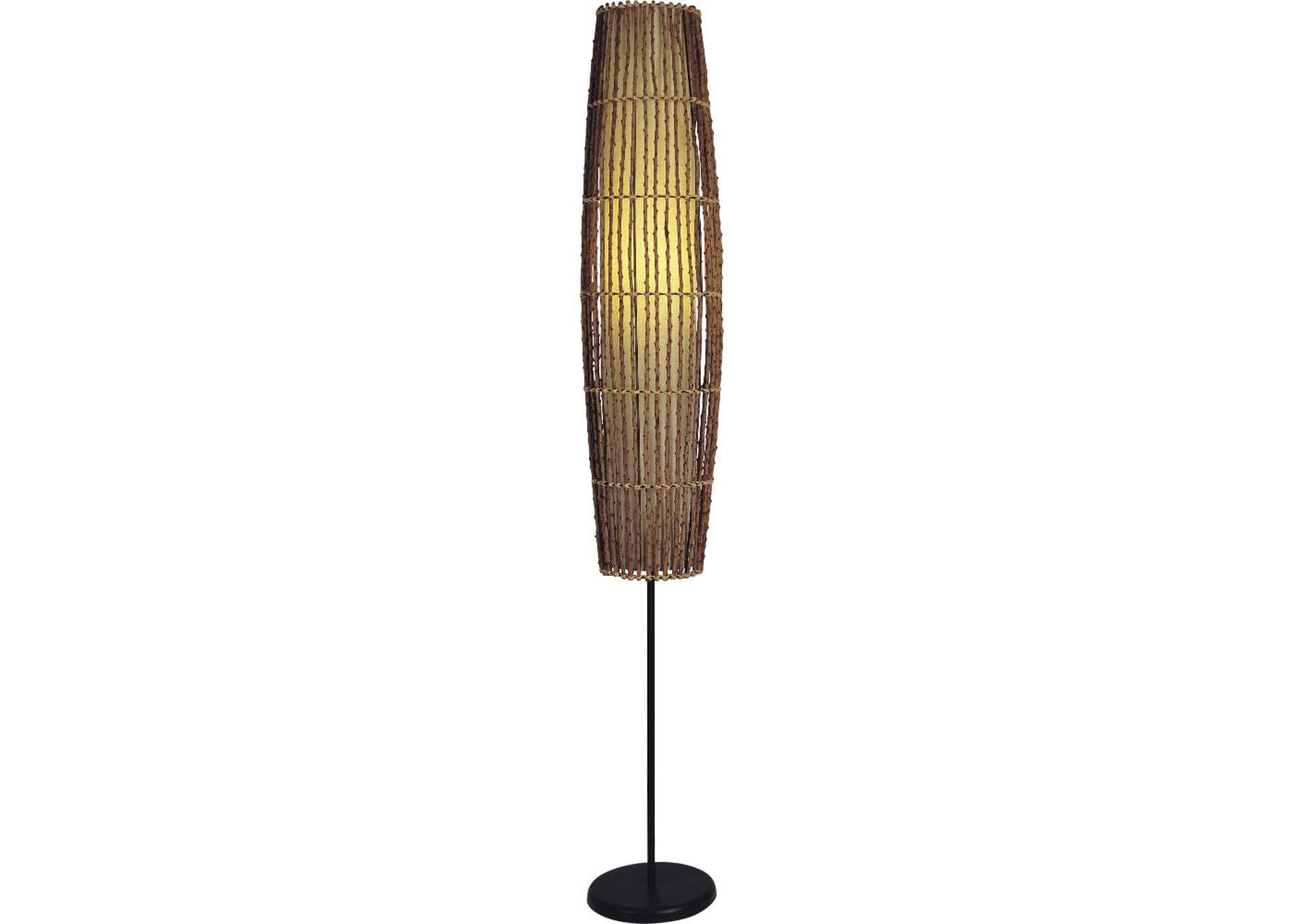Bamboo Floor Lamp,Acme