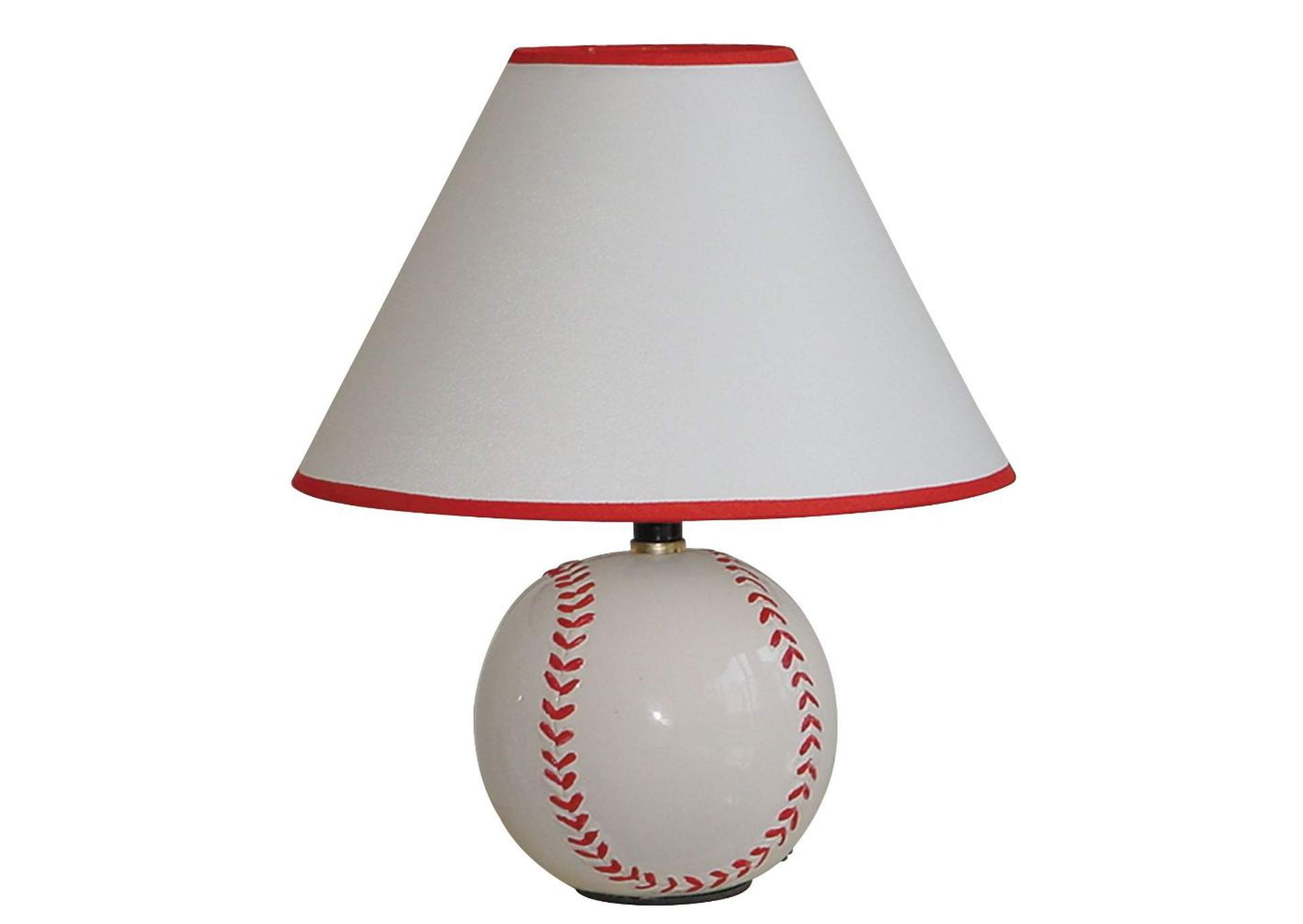All Star Baseball Table Lamp (Set-8),Acme