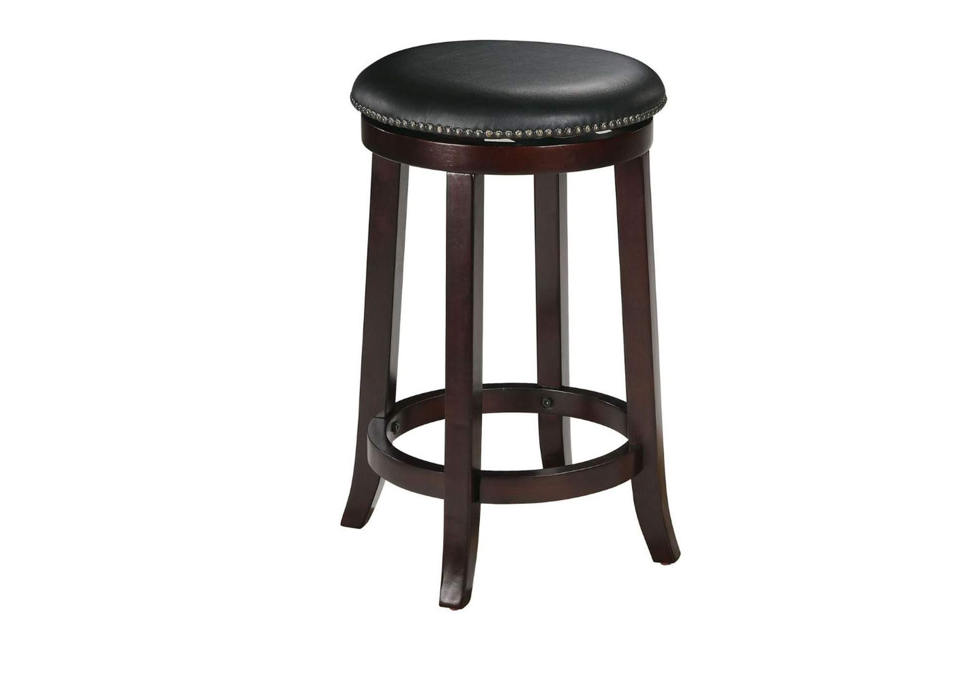 Chelsea Espresso Bar Stool w/Swivel (Set-2),Acme
