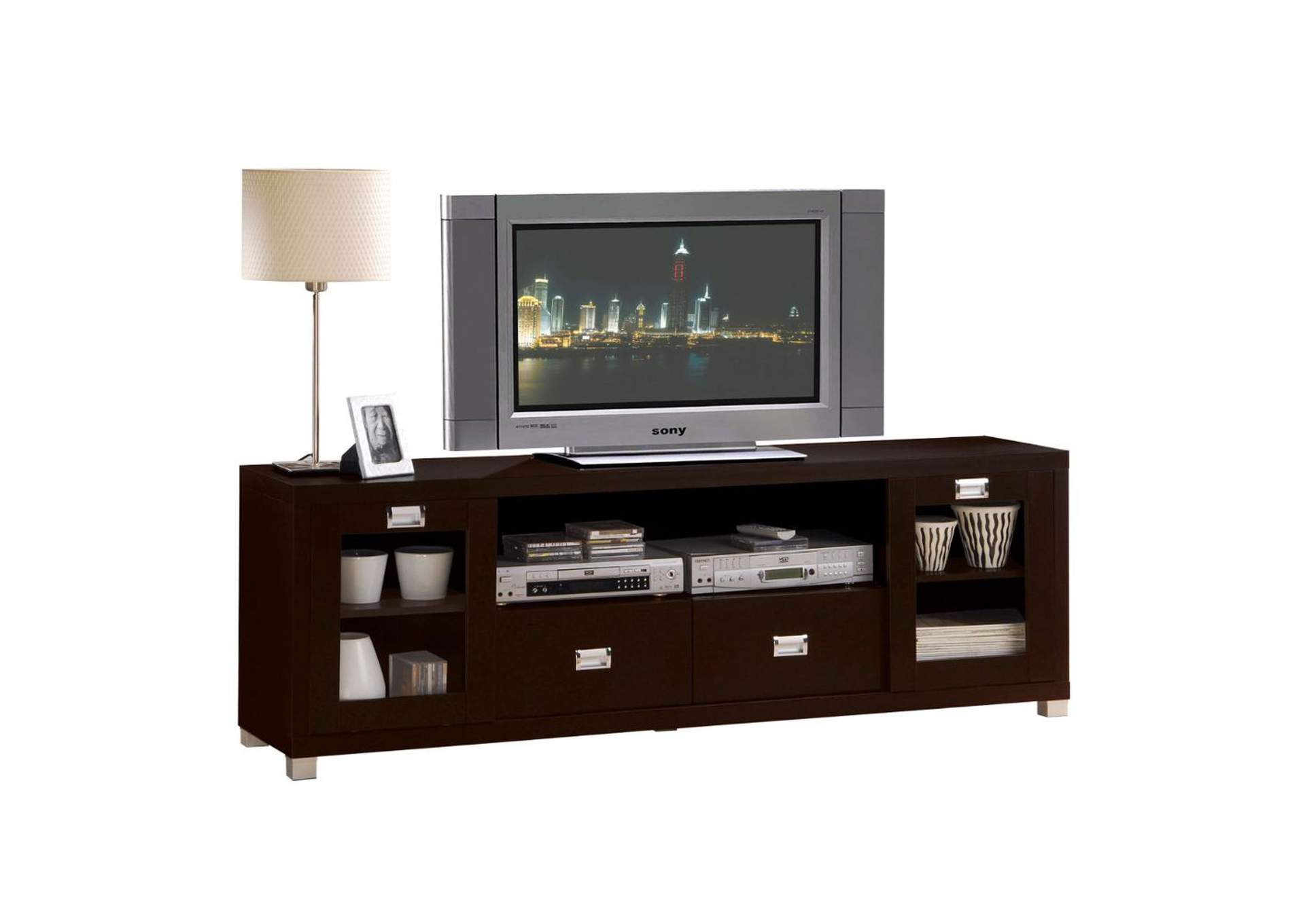 Commerce Espresso TV Stand,Acme