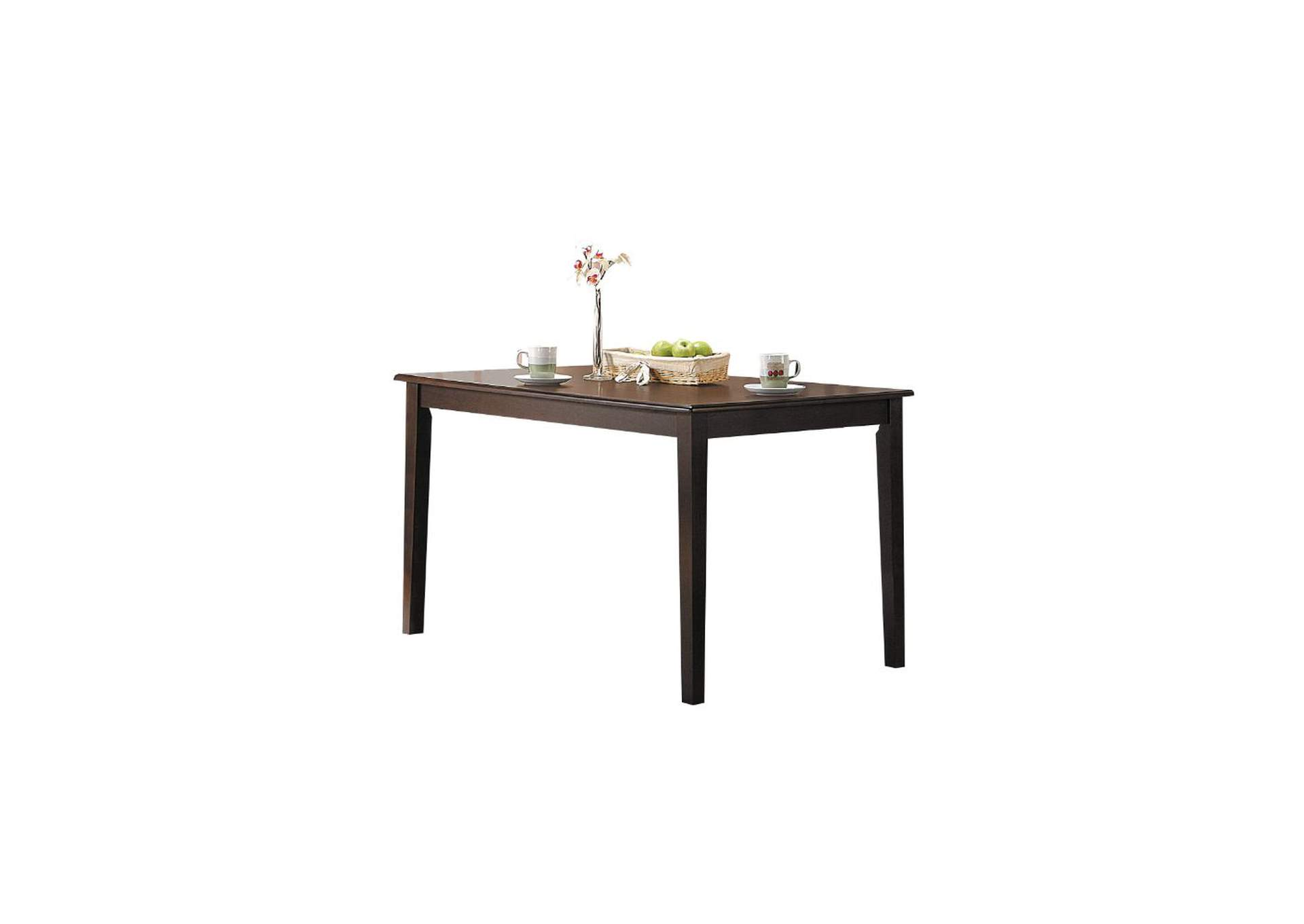 Cardiff Espresso Dining Table,Acme