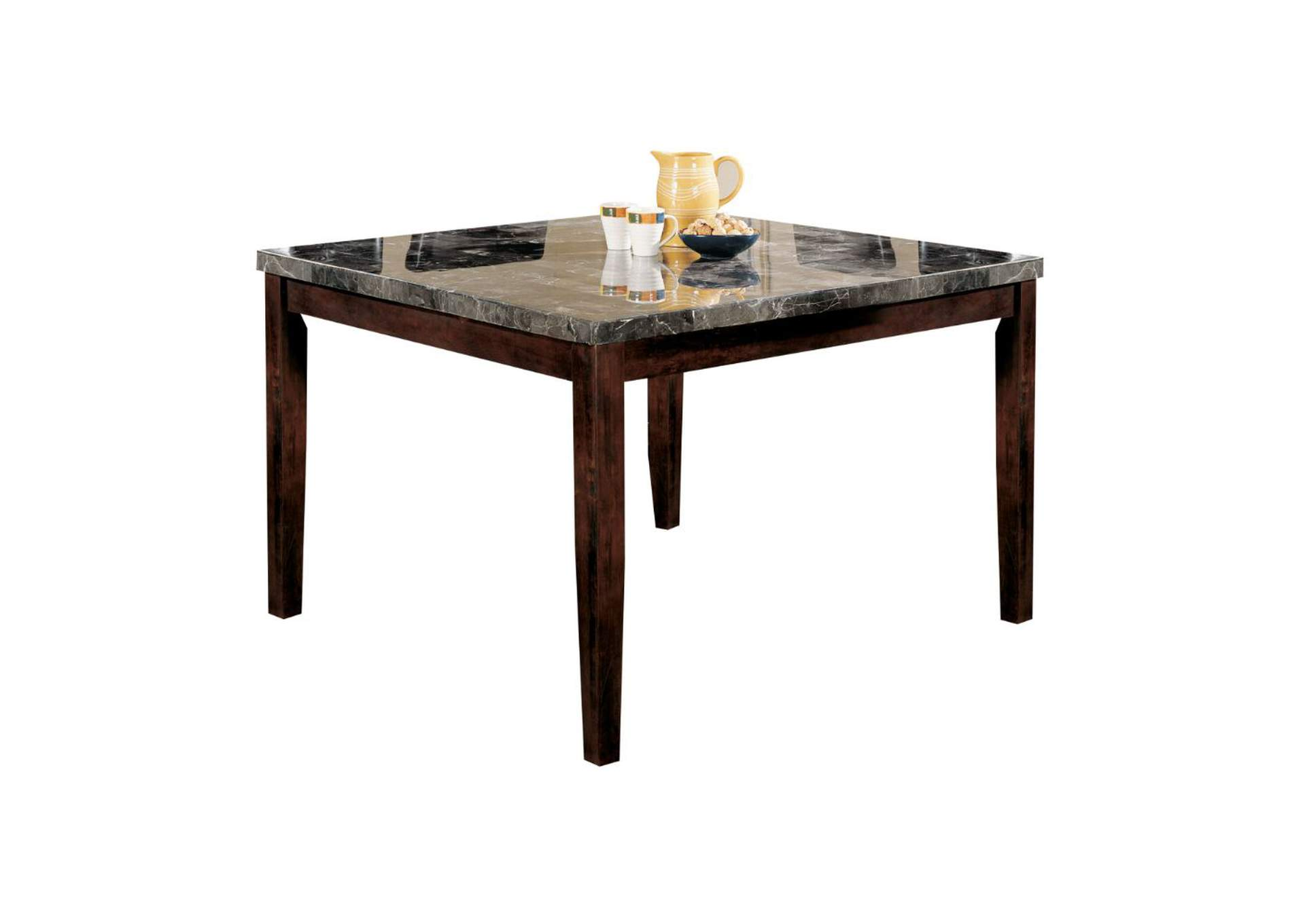Danville Black/Walnut Counter Height Table,Acme