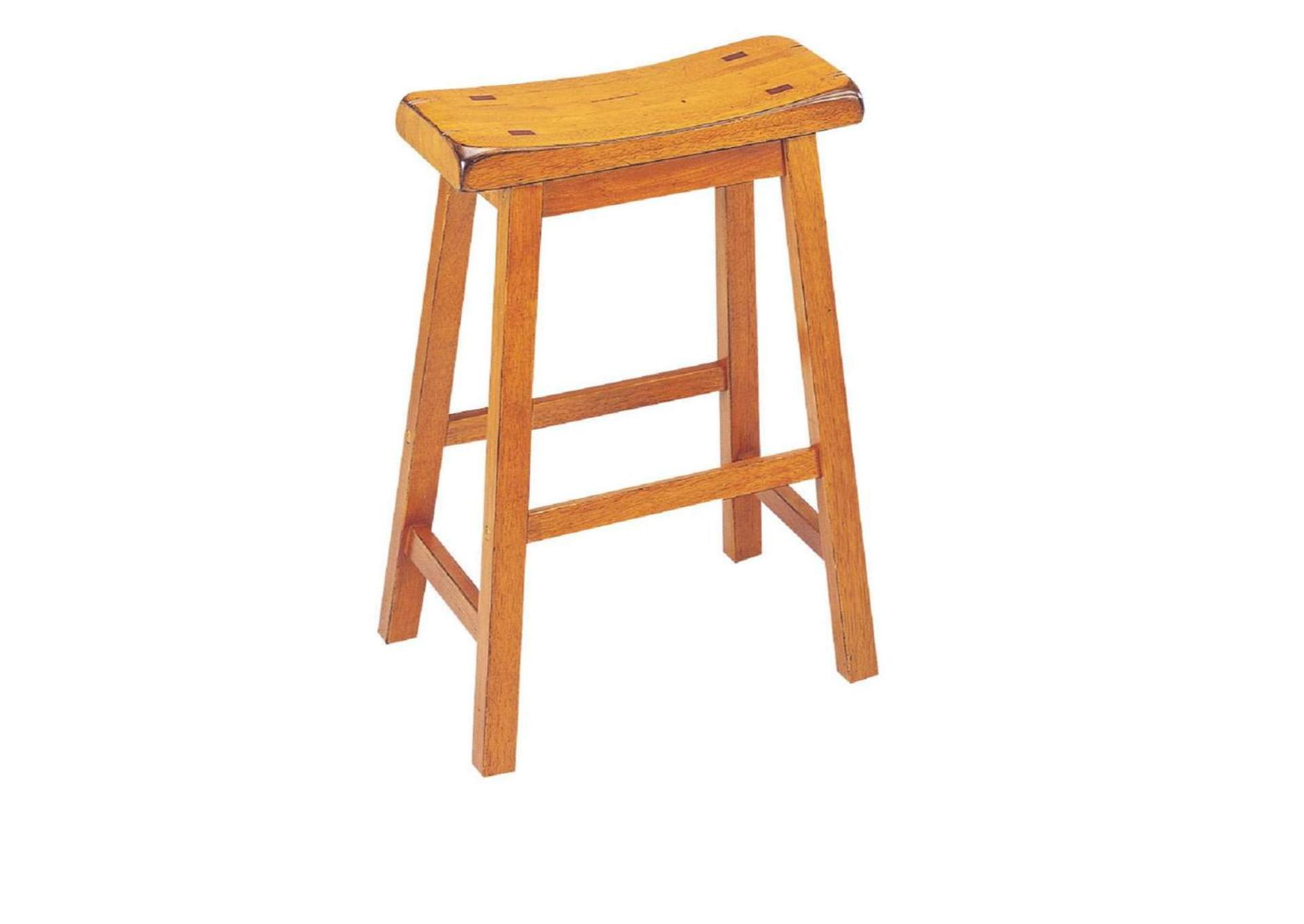 Gaucho Oak Counter Stool (Set of 2),Acme