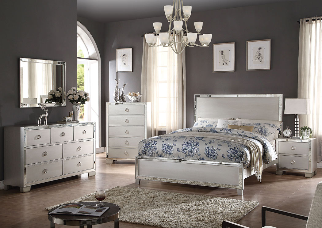 Voeville II Platinum Queen Bed,Acme
