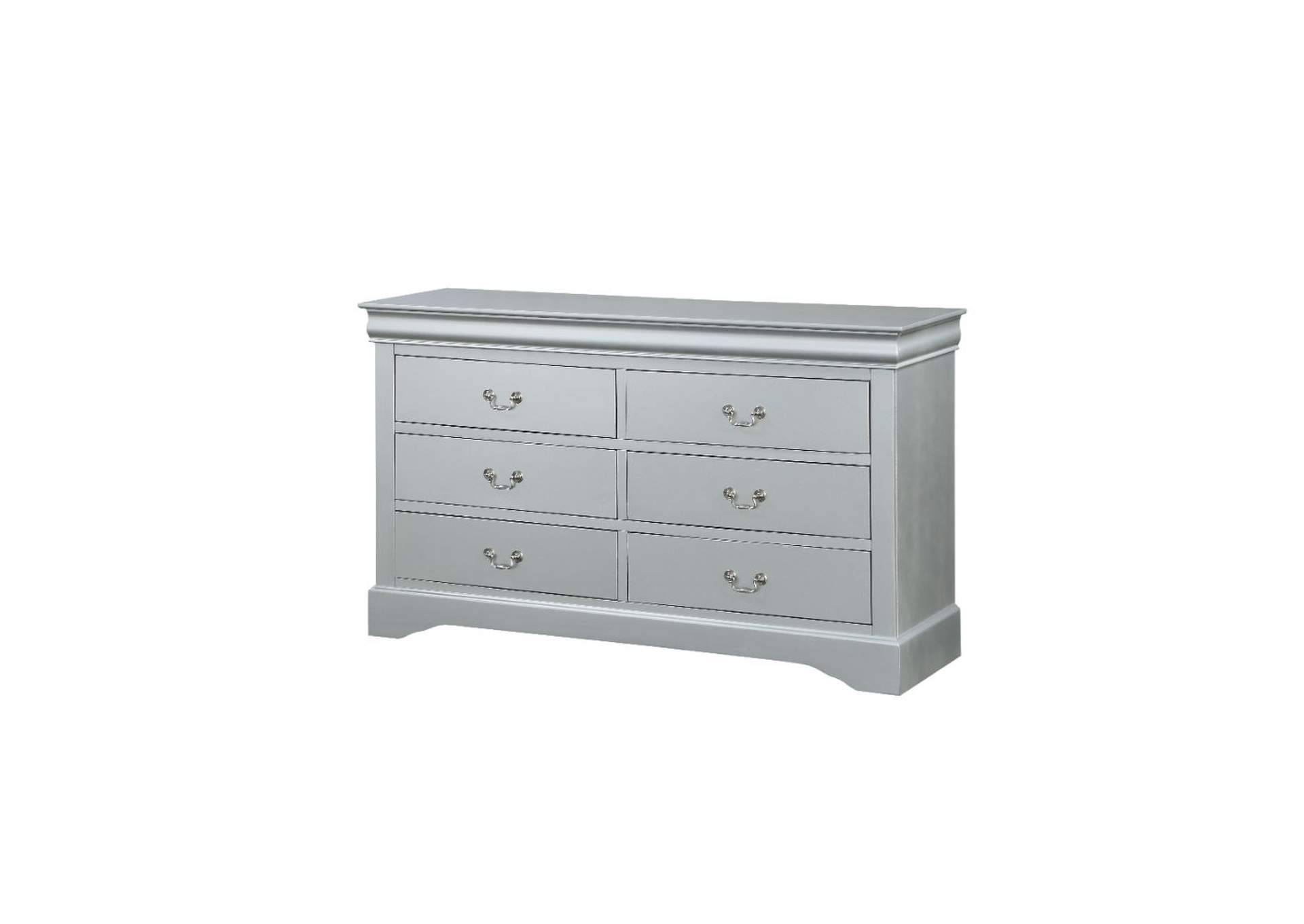 Louis Philippe Platinum Dresser,Acme