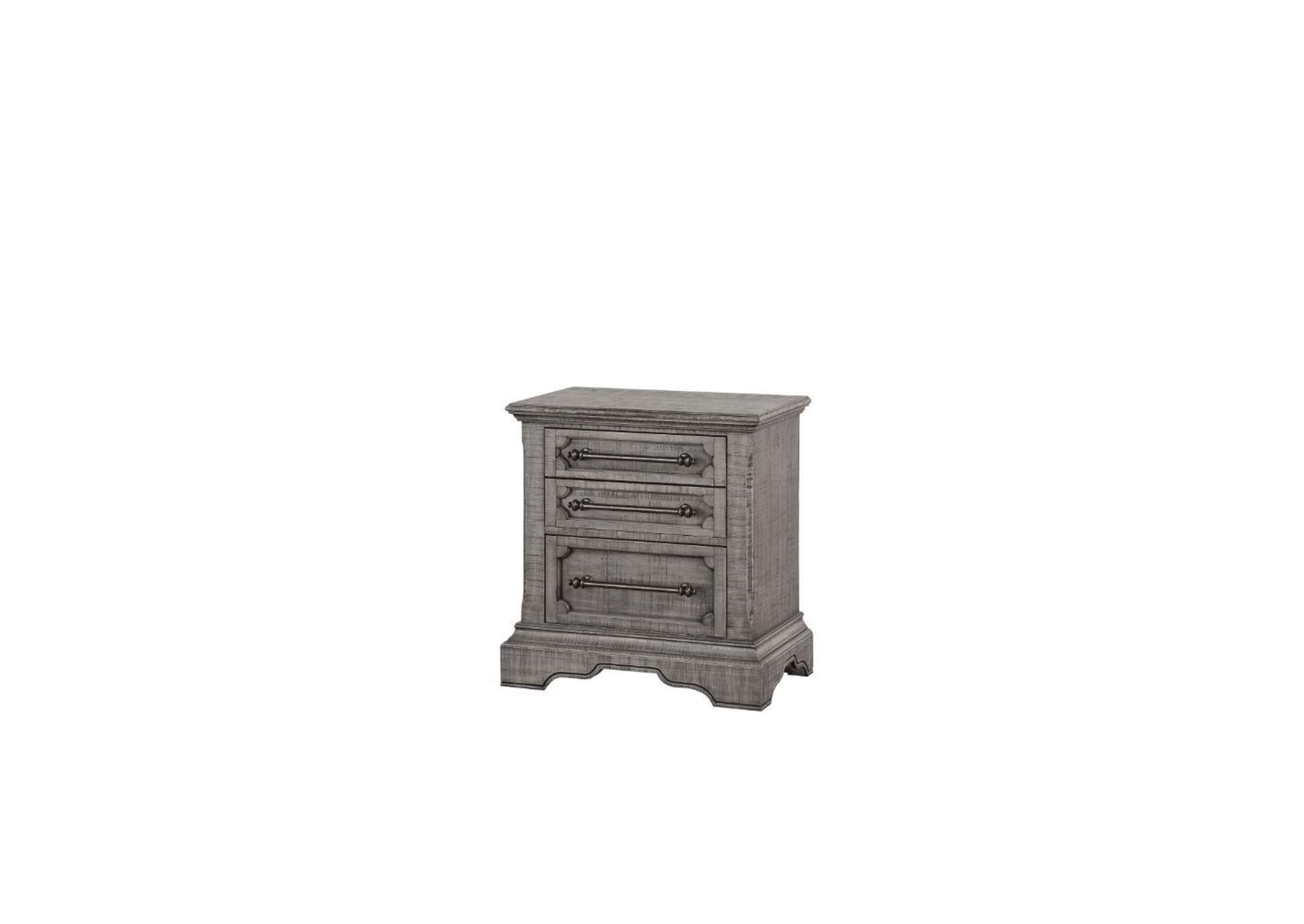 Artesia Salvaged Natural Nightstand,Acme