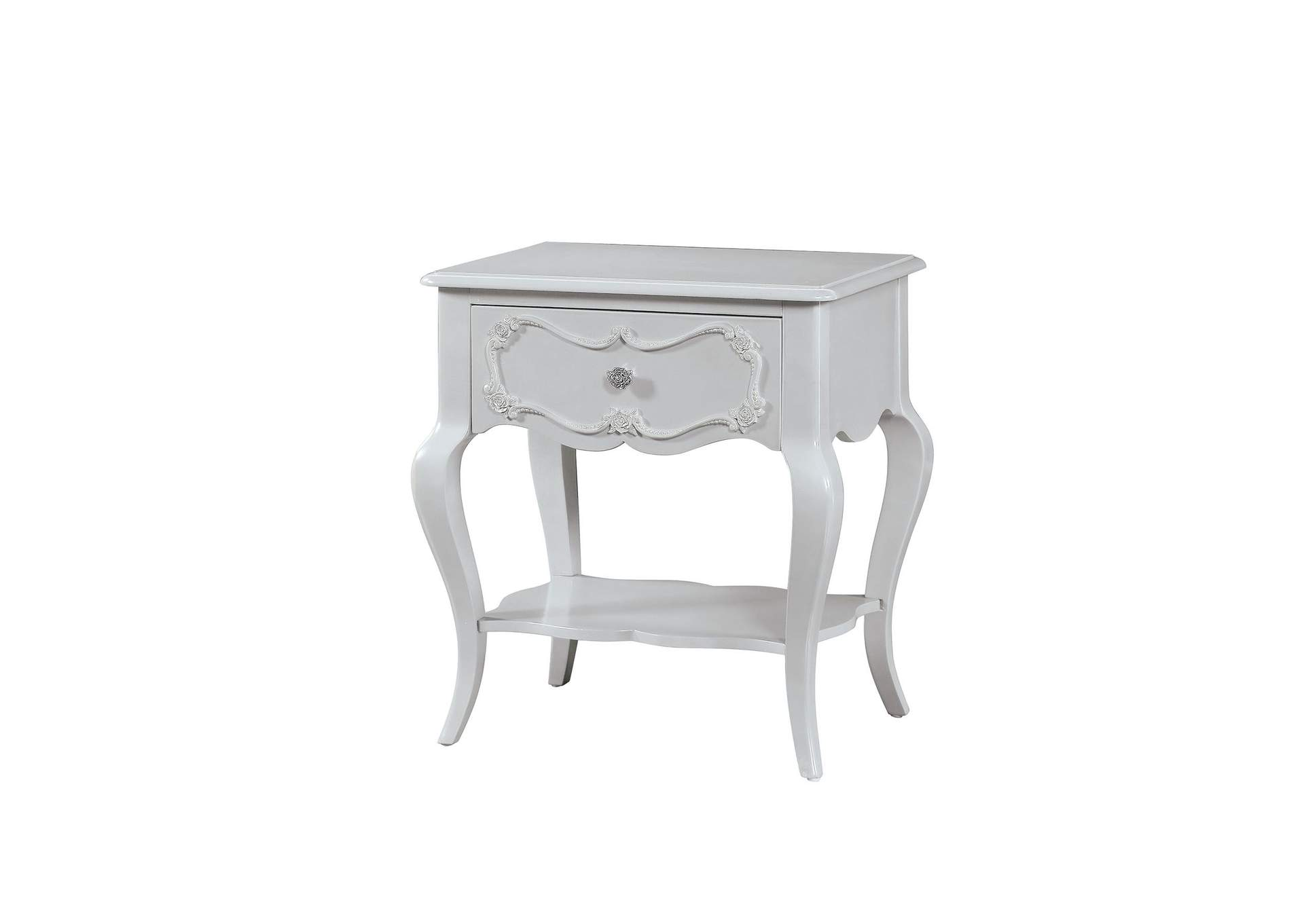 Edalene Gray Nightstand,Acme