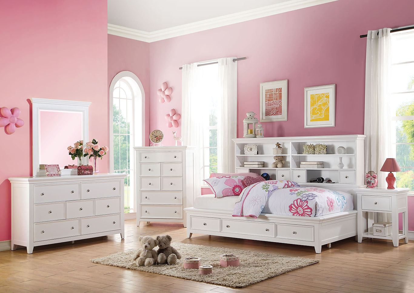 Lacey White Dresser,Acme