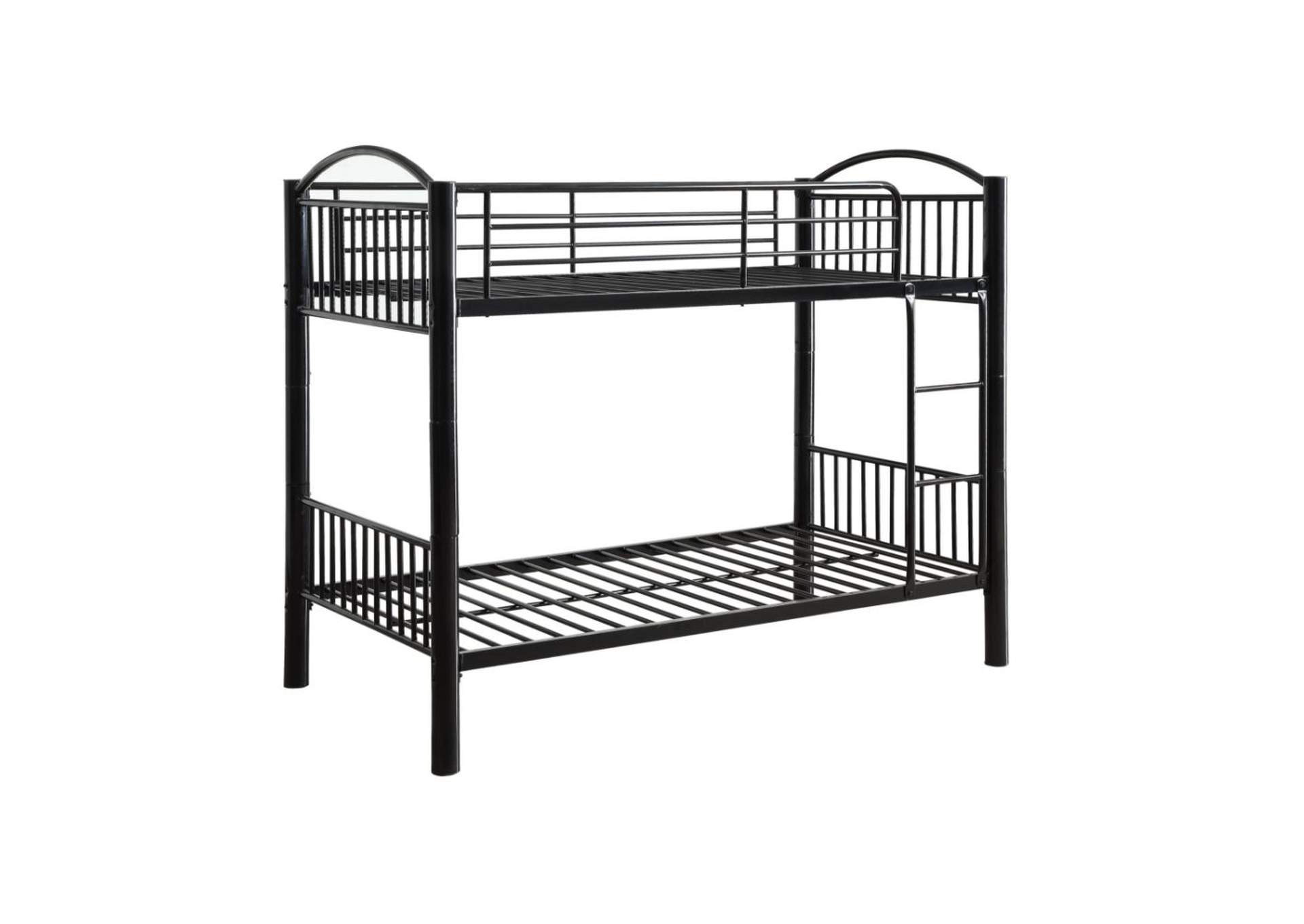 Cayelynn Black Twin/Twin Bunk Bed,Acme