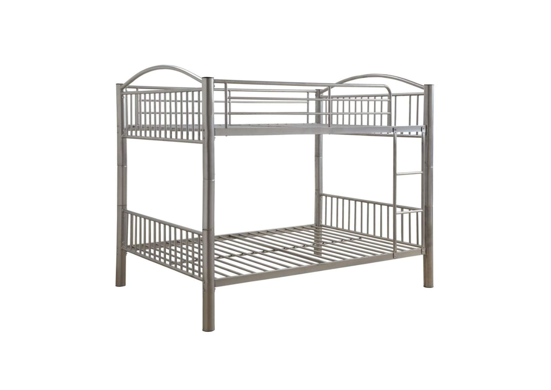 Cayelynn Silver Bunk Bed,Acme