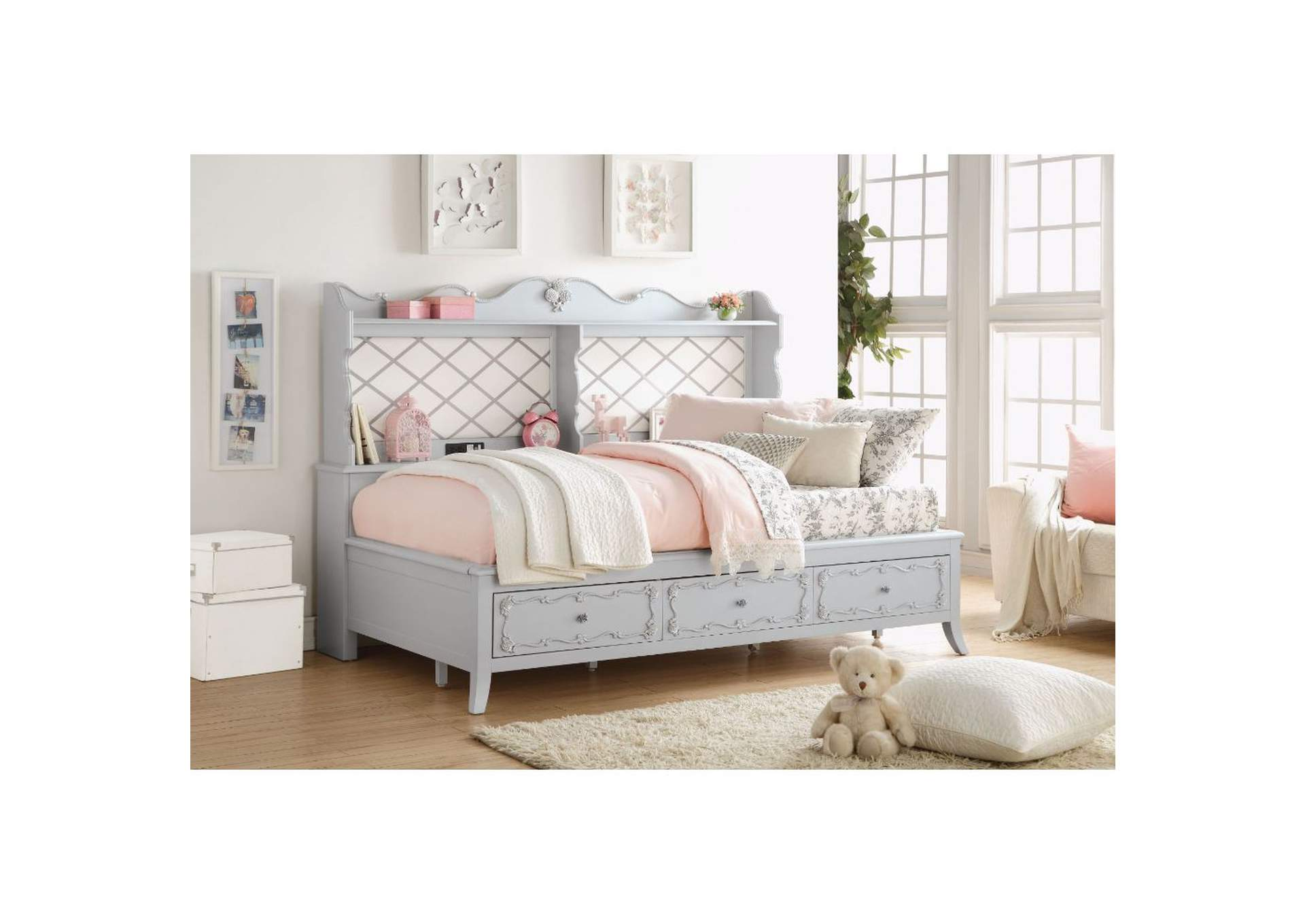 Edalene Gray Daybed,Acme