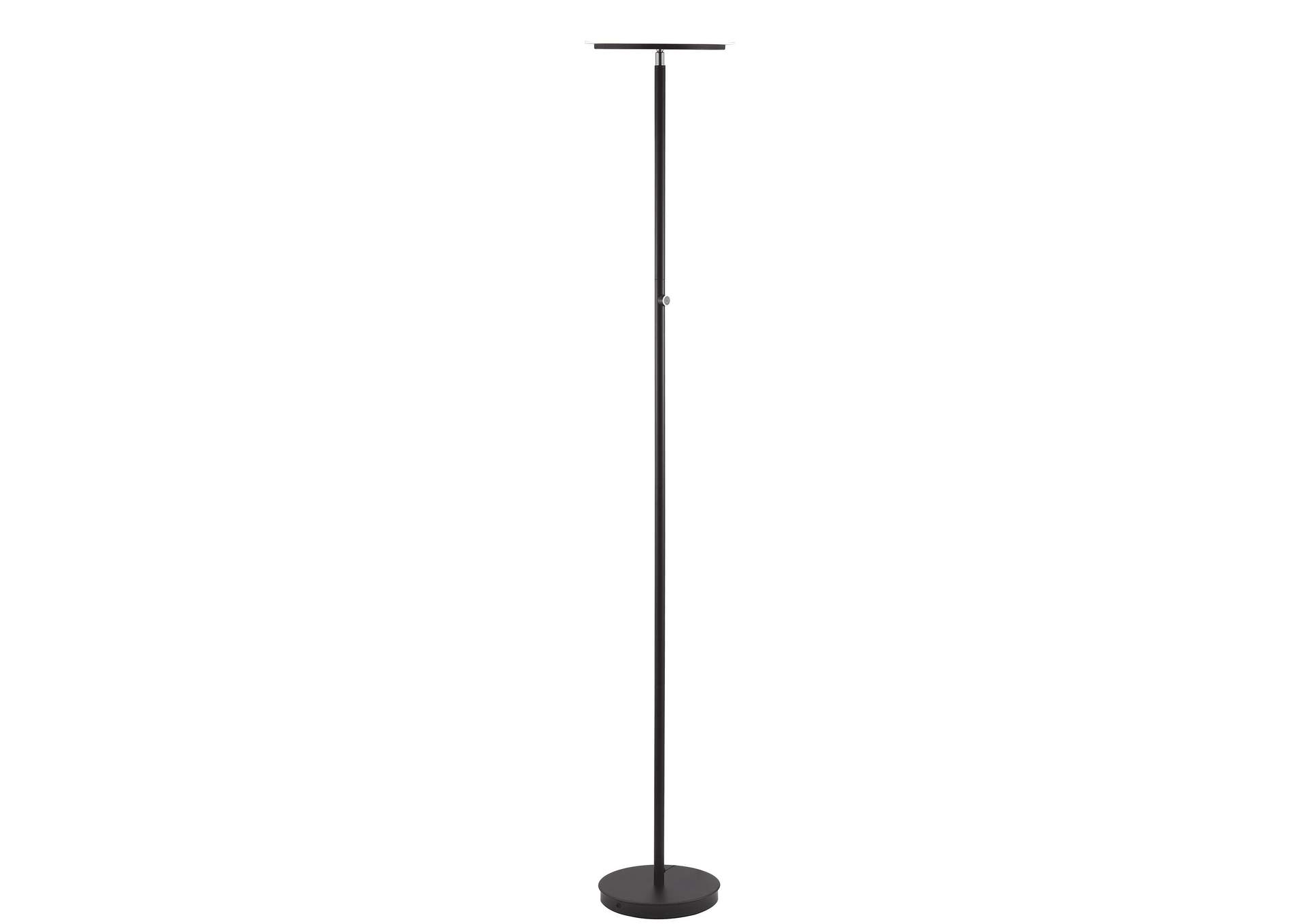 Massey Black Floor Lamp,Acme