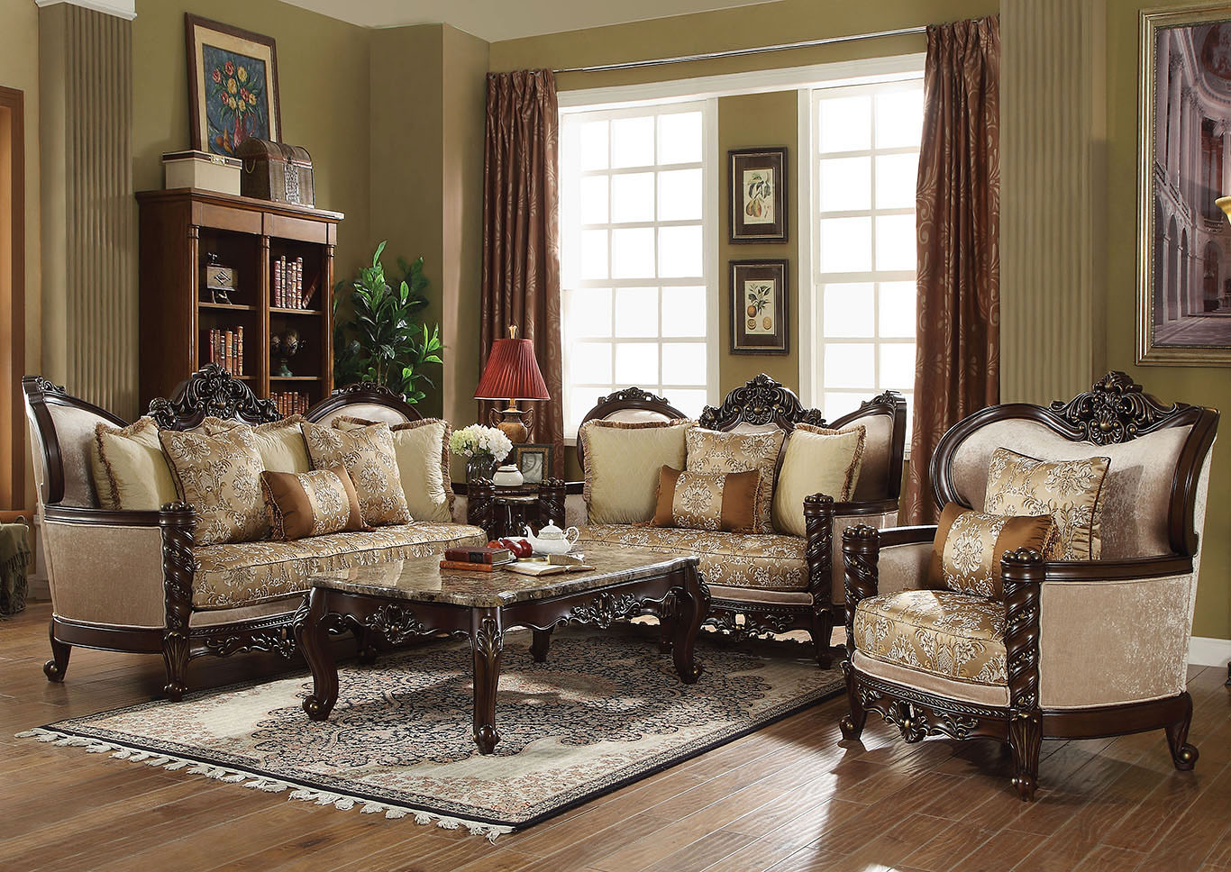 Devayne Cultured Pearl Loveseat,Acme
