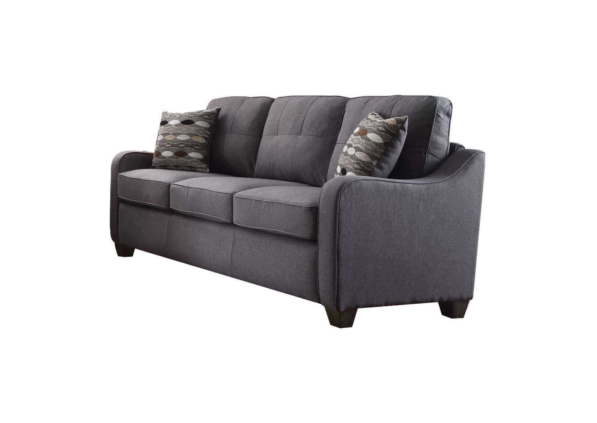 Cleavon II Gray Linen Sofa,Acme