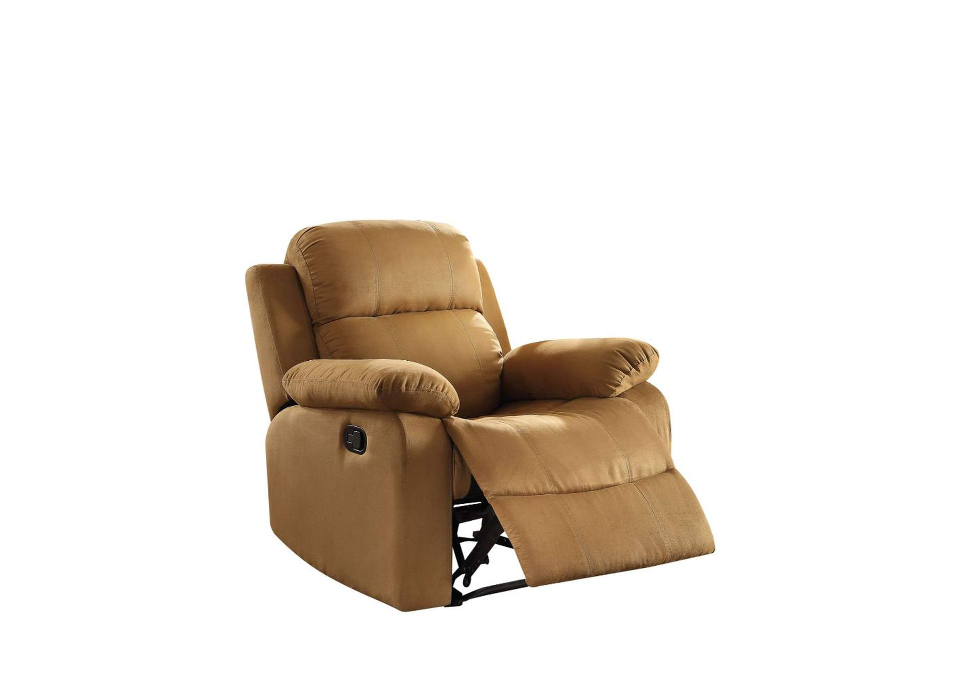 Parklon Brown Microfiber Recliner,Acme