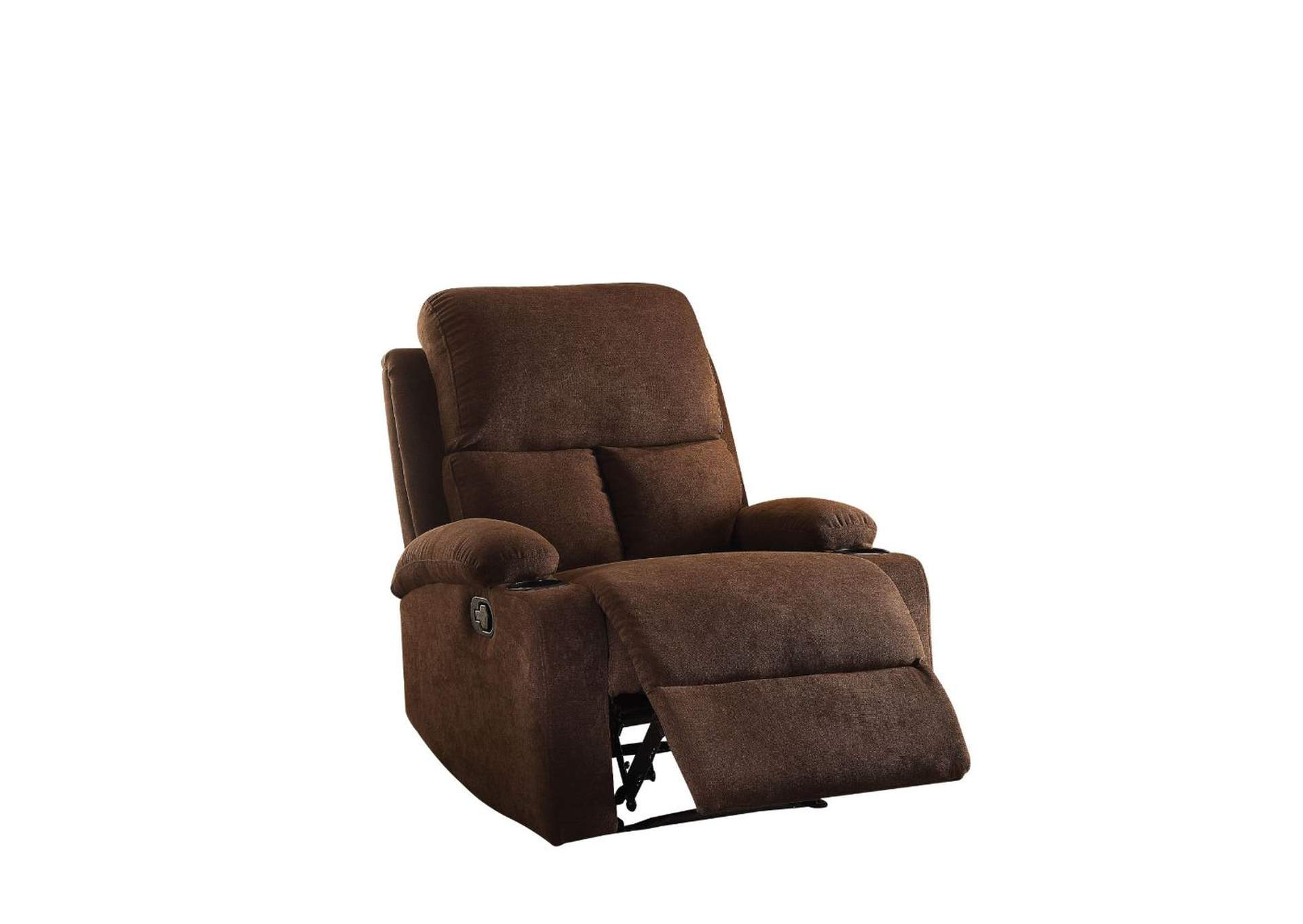 Rosia Chocolate Recliner,Acme