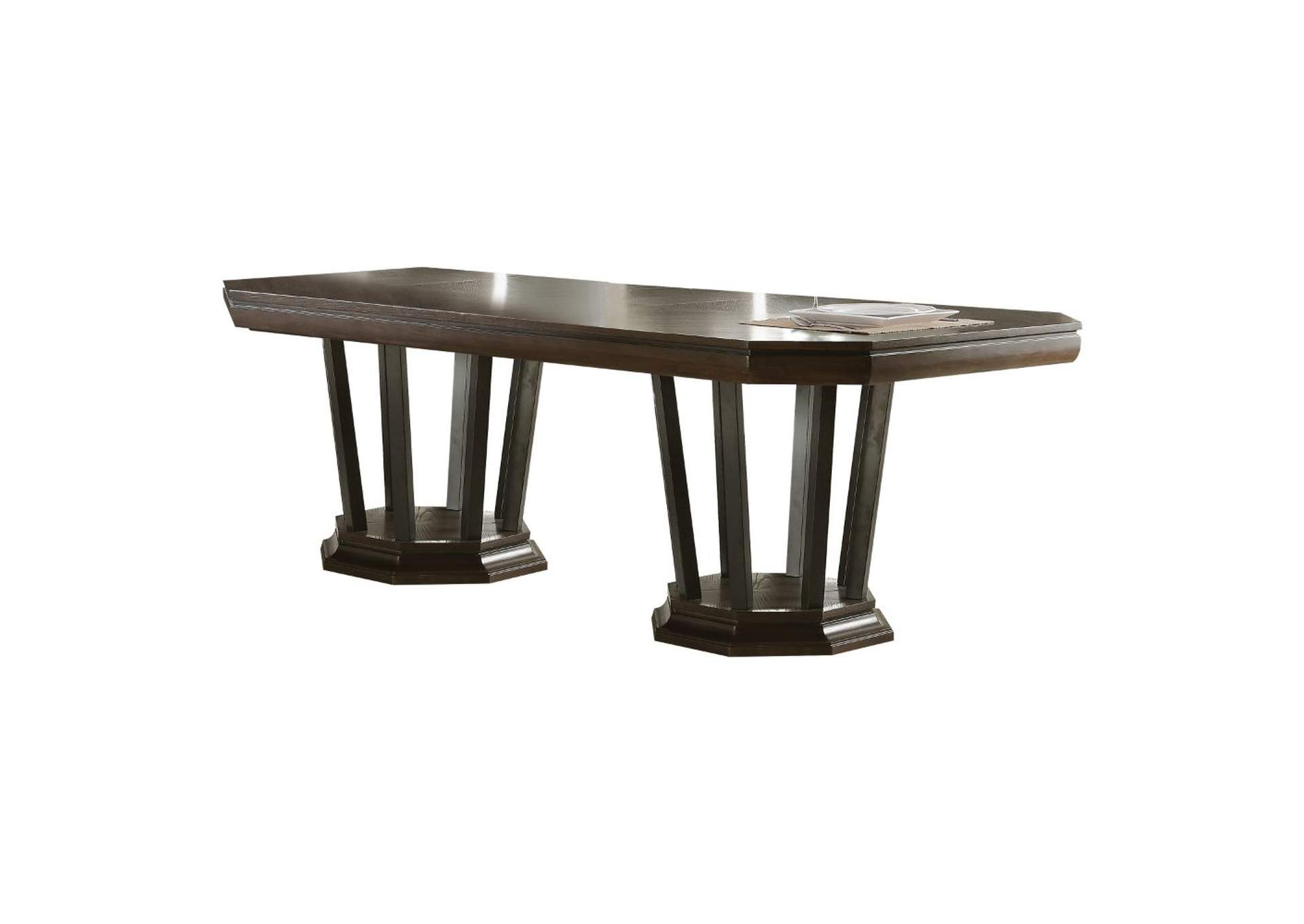 Selma Tobacco Dining Table,Acme