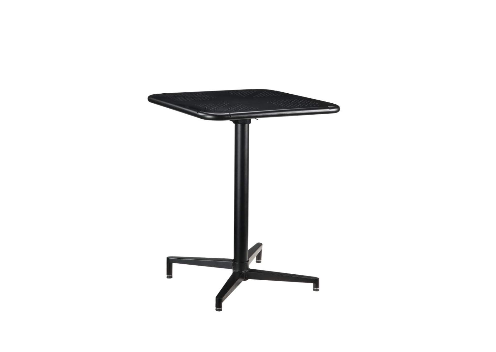 Olson Black Folding Accent Table,Acme