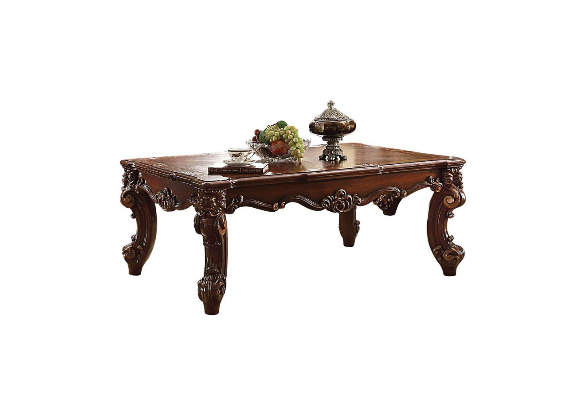 Vendome II Cherry Coffee Table,Acme