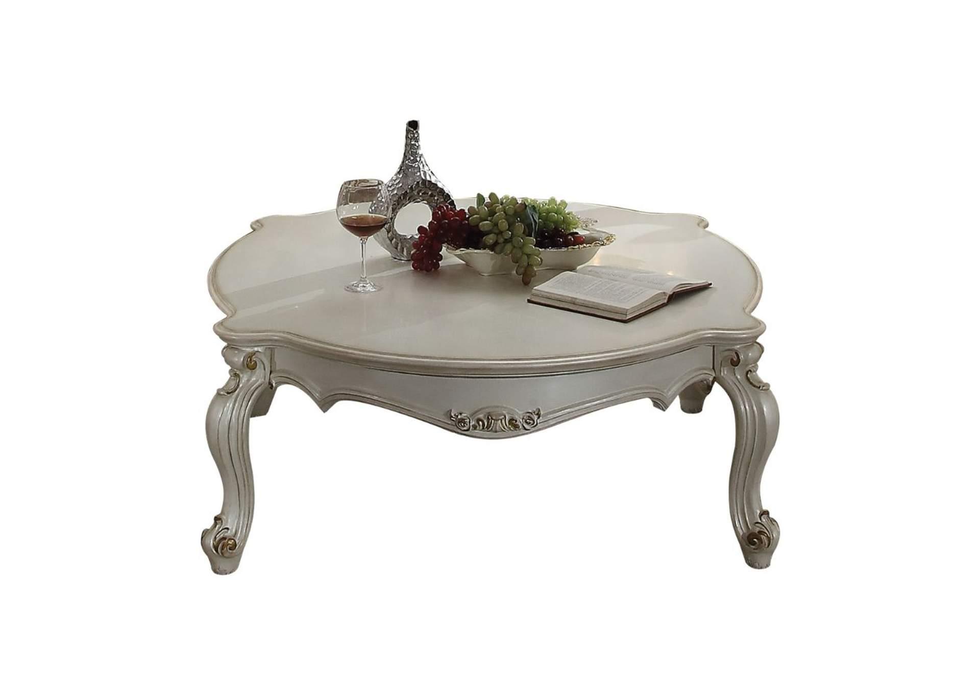 Picardy Antique Pearl Coffee Table,Acme