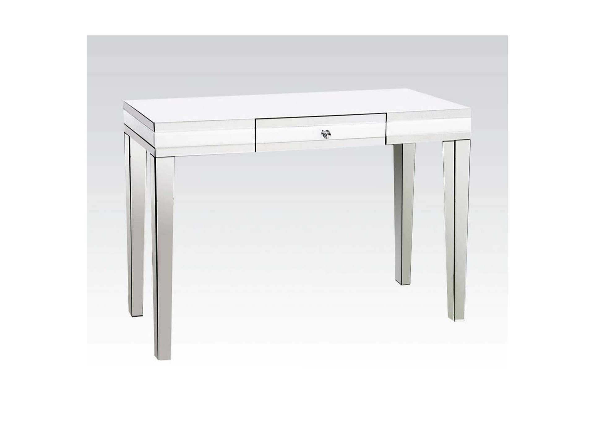 Nerissa Mirrored Accent Table,Acme
