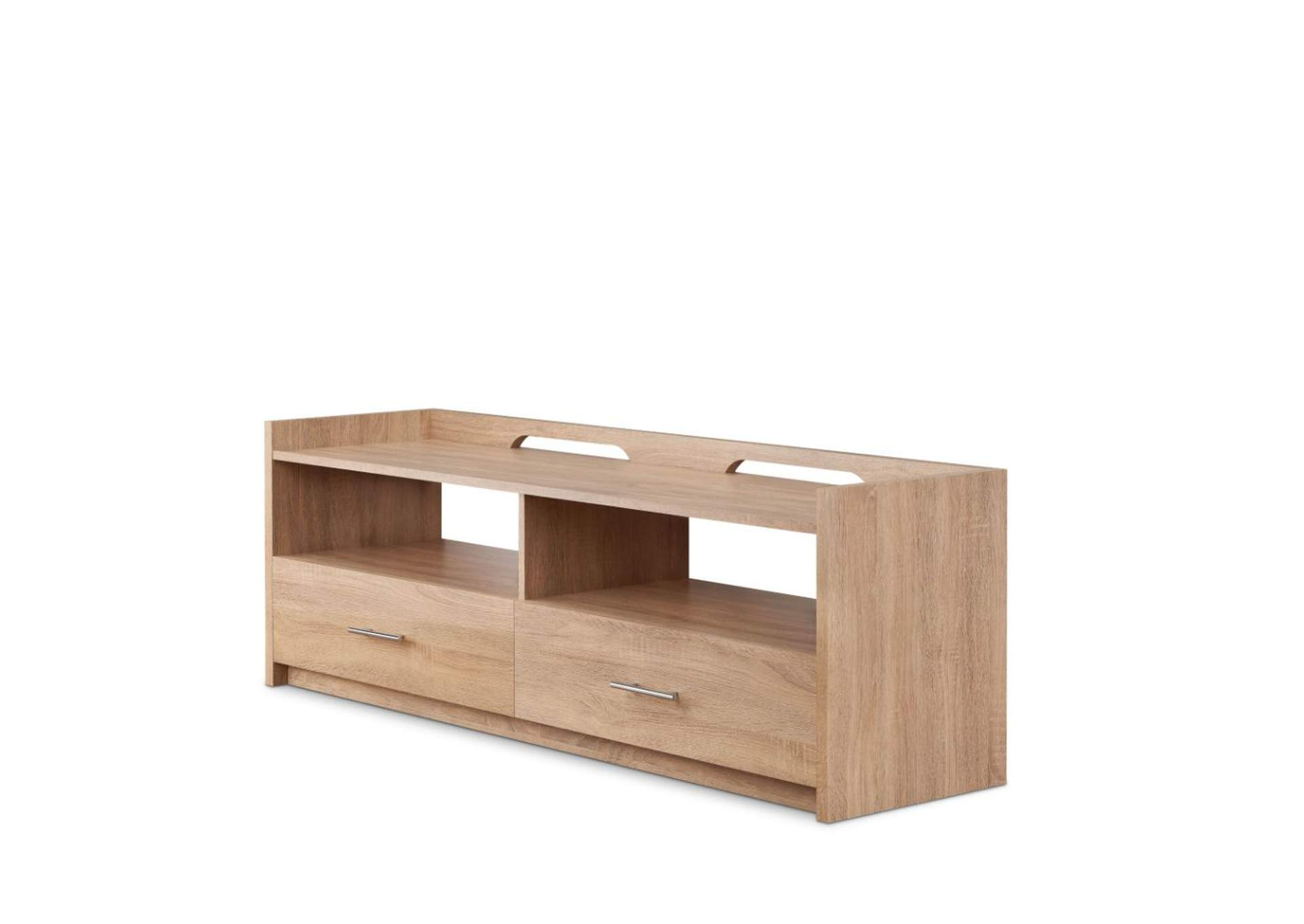 Kilko Rustic Natural TV Stand,Acme