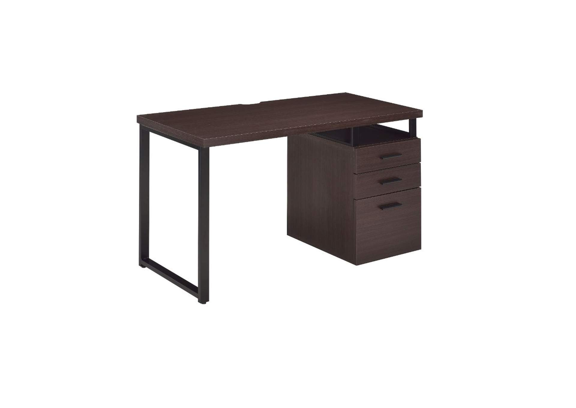 Coy Dark Oak Desk,Acme