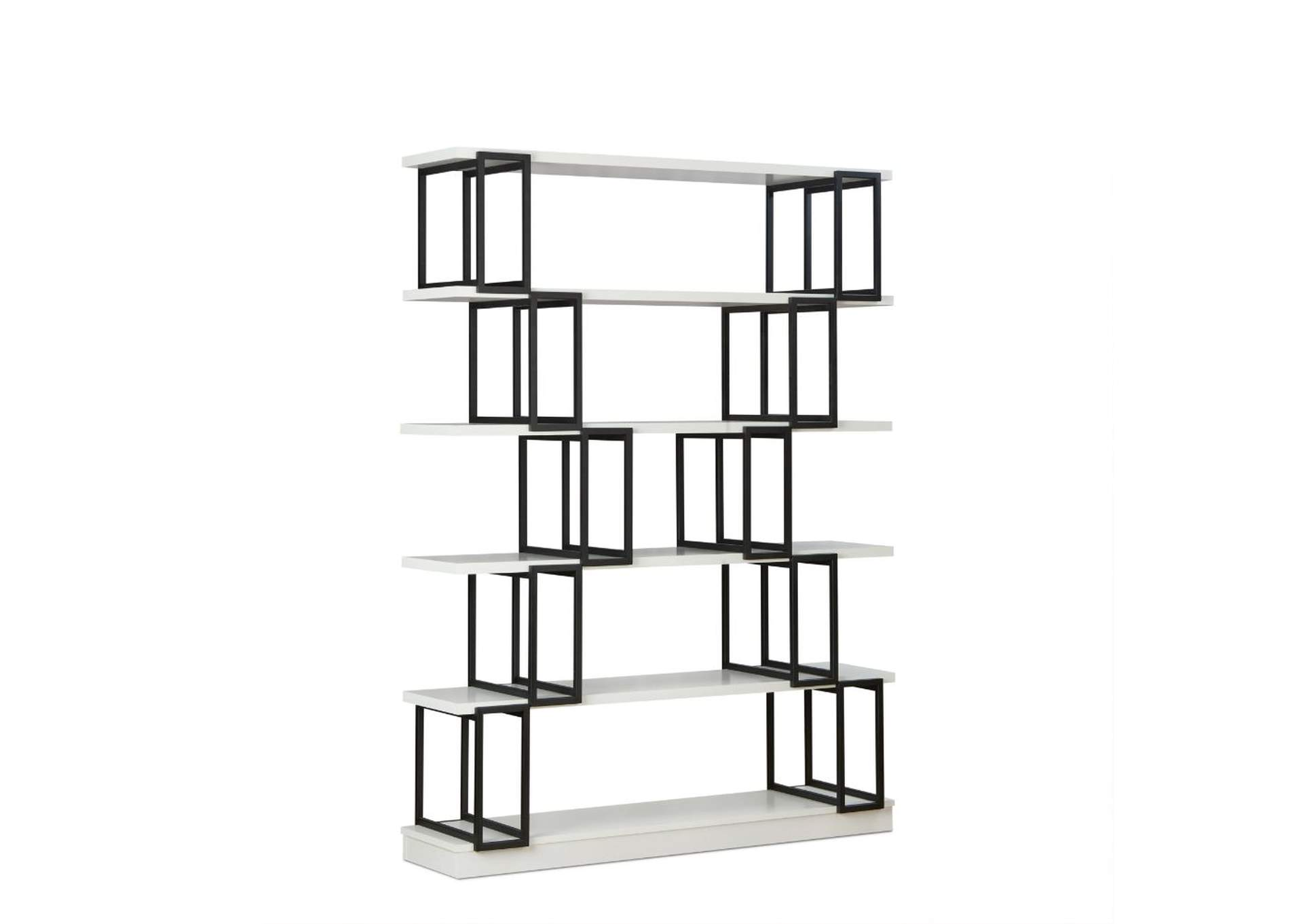 Verne Quick Silver Bookcase,Acme