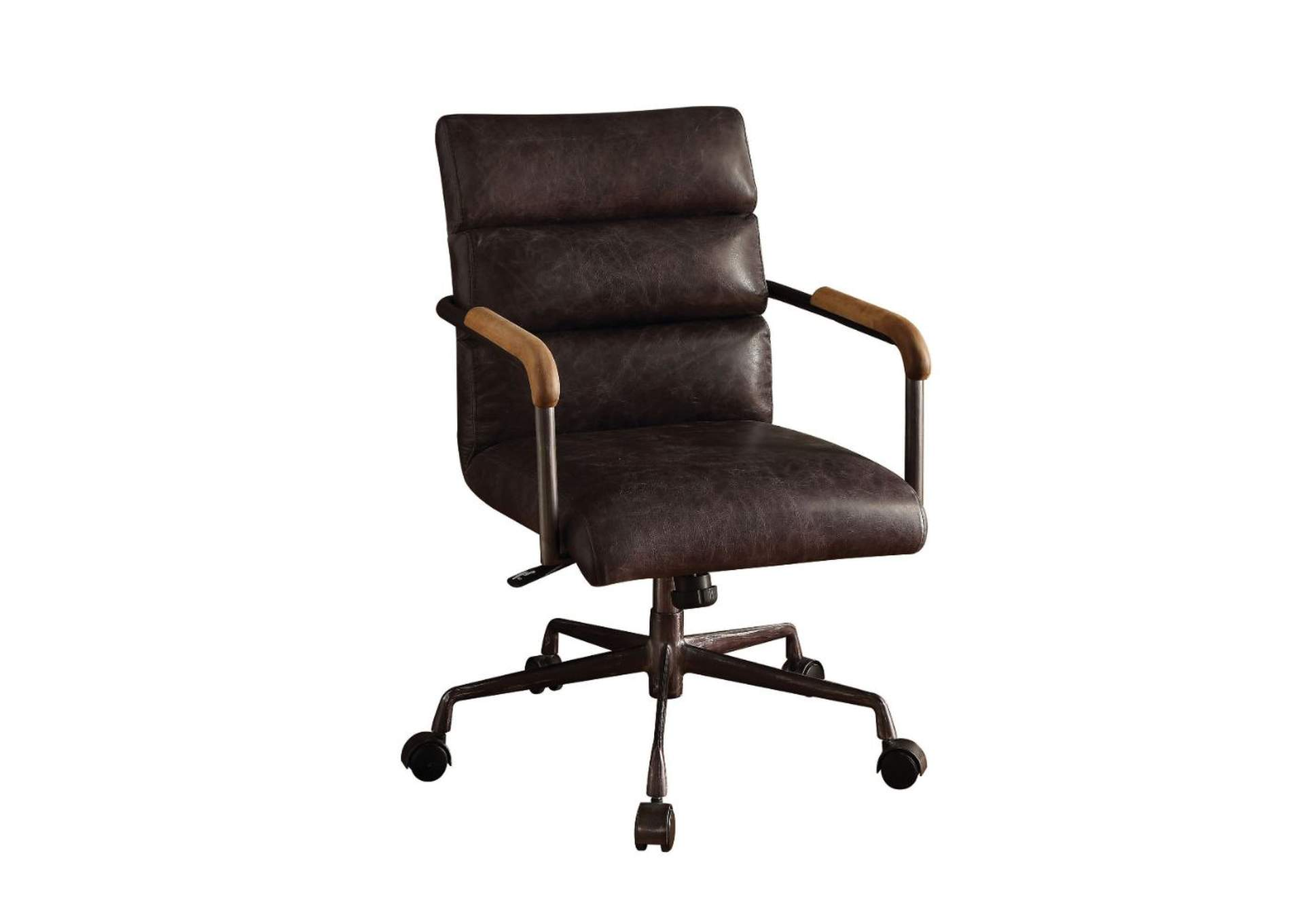 Harith Antique Slate Office Chair,Acme