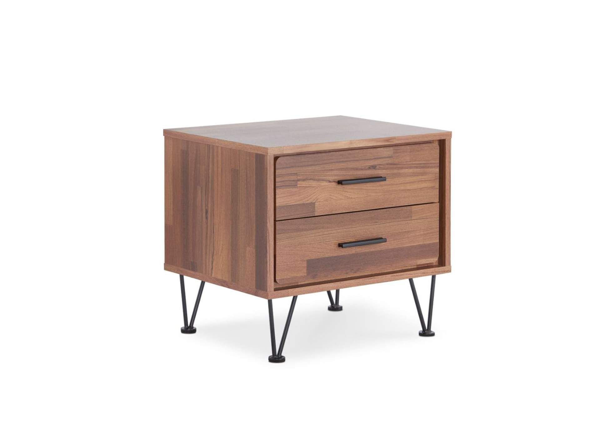 Deoss Walnut Accent Table,Acme