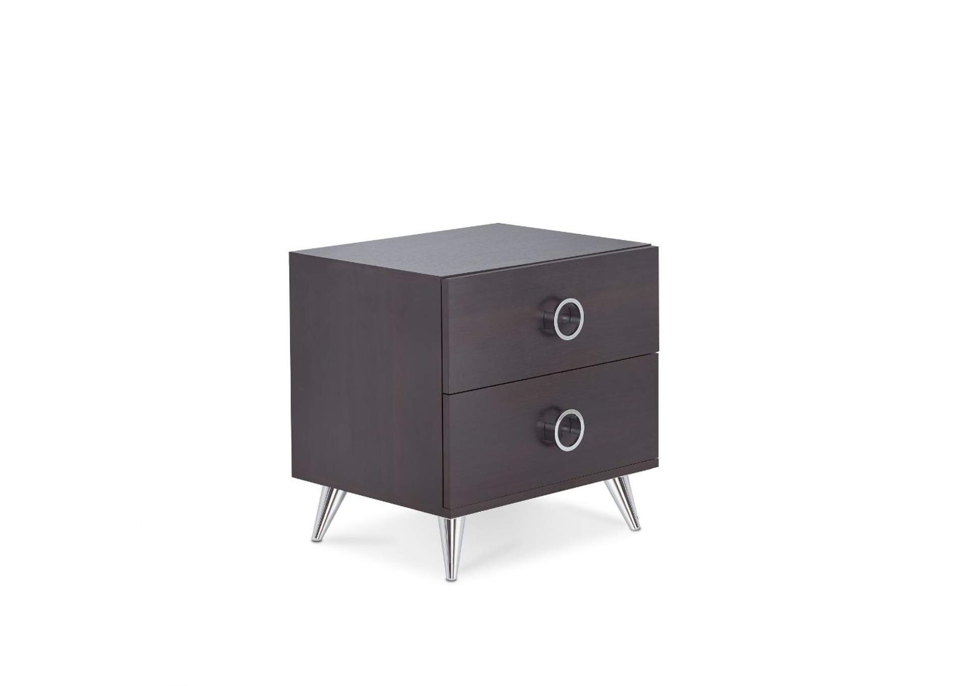 Elms Espresso Accent Table,Acme