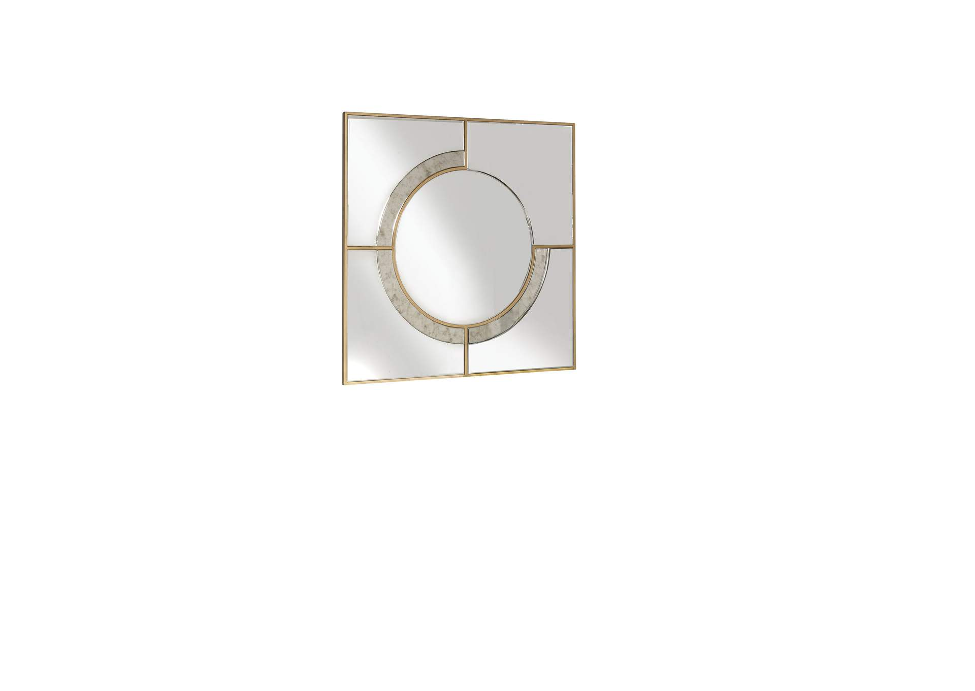 Hanne Mirrored Wall Decor,Acme