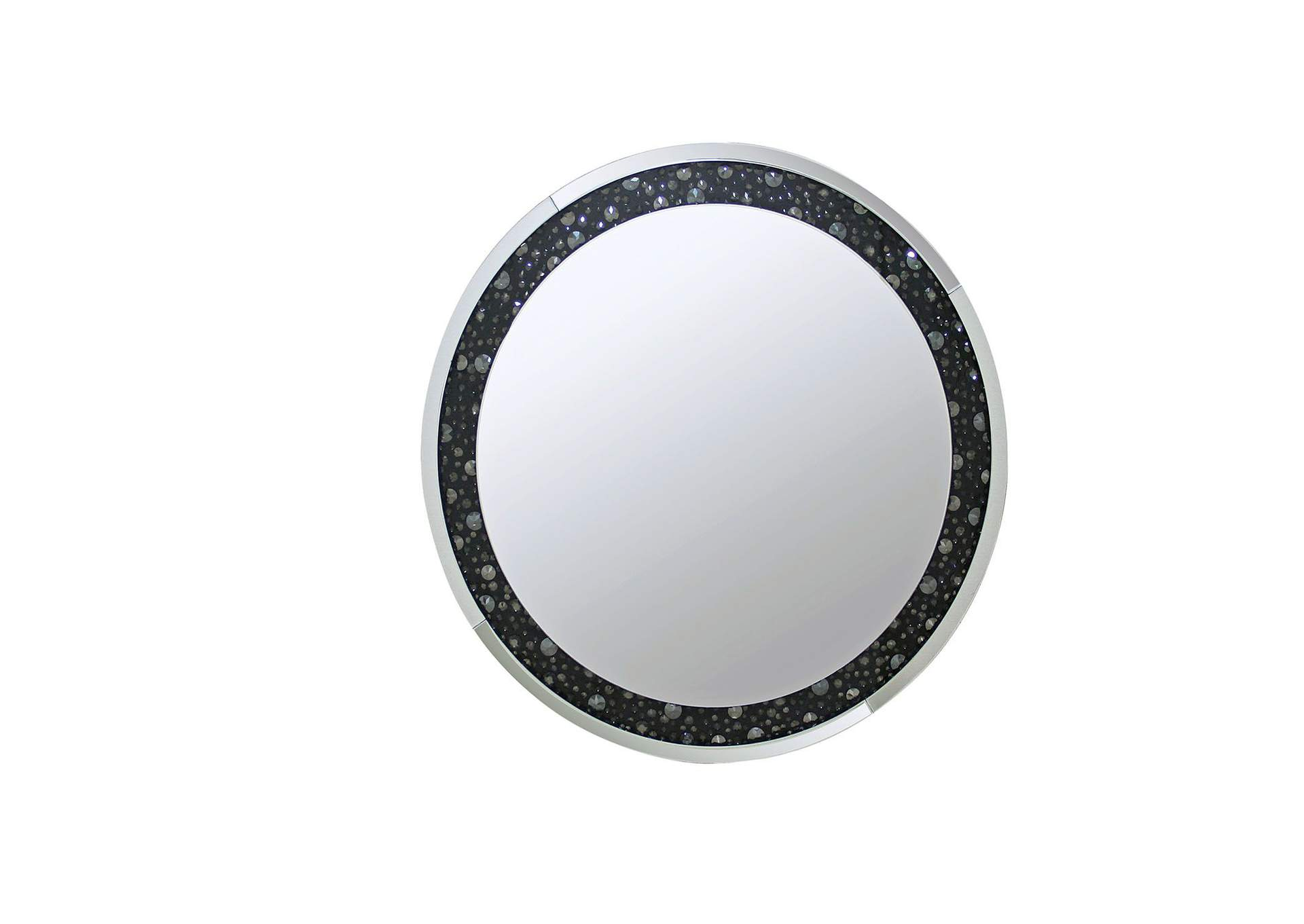 Noor Circle Accent Mirror,Acme