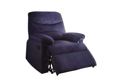 Arcadia Blue Recliner (Motion)