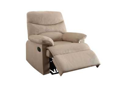 Image for Arcadia Beige Woven Recliner