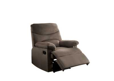 Image for Arcadia Brown Recliner (Motion)
