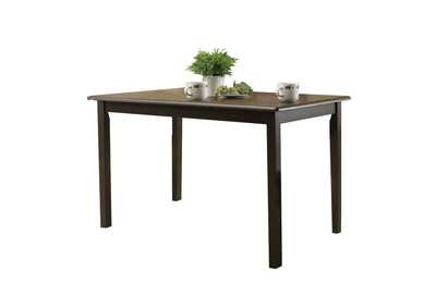 Image for Serra II Cappuccino Dining Table