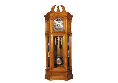 Image for Filmour Oak Grandfather Clock