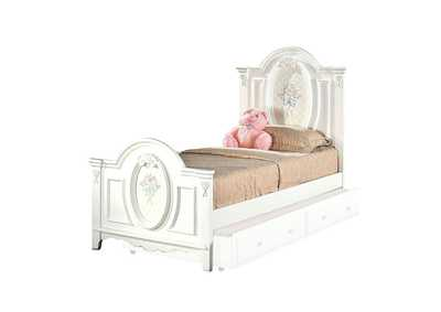 Image for Flora White Full Bed