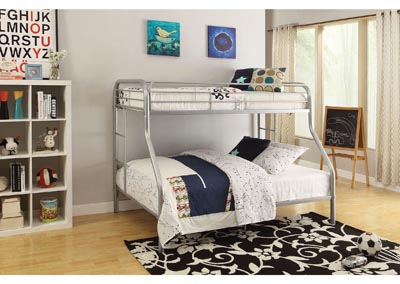 Image for Tritan Silver Twin XL/Queen Bunk Bed